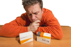 Ibuprofen or paracetamol